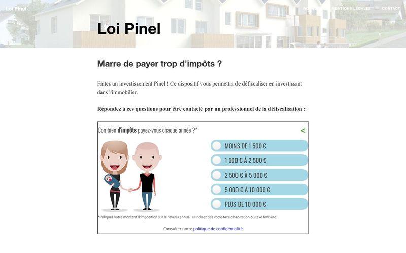 Quels sont les avantages de la Loi Pinel ?